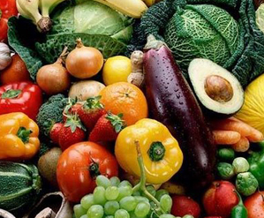 Seasonal Vegetables and Fruit